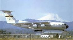 C 141 b Starlifter - I think this was taken at McCord AFB, because I think that's Mt. Rainer in the background.