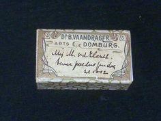 Pillendoosje 1912, Domburg, Dr. B. Vaandrager