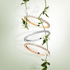 Declare your love with Félicité, Van Cleef & Arpels new wedding band, that combines precious metal and diamonds that meet the most stringent criteria. More information: http://goo.gl/HrrwqJ