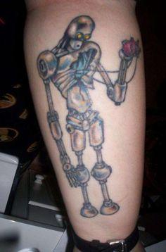 robot tattoos | Robot tattoo