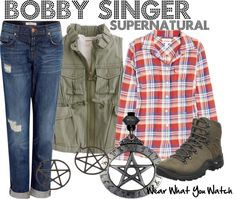 Inspired by character Bobby Singer played by Jim Beaver on the CW's Supernatural.