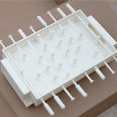 Download on https://cults3d.com #3Dprinting #Impression3D 3D printing Pocket Foosball, Cmark0