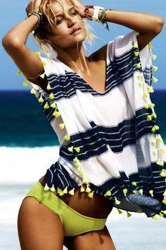 http://www.rougeframboise.com/mode/4-habits-plage-tendance  #plage #summer #ete…