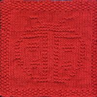 """Free Knit Dishcloth Patterns-I don't do """"dishcloth's"""" but it could be fun to pick a design and make a multi-colored blanket from them!"""