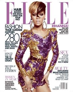 Fierce or Not? Rihanna on July's Elle Magazine Beyonce, Rihanna You, Rihanna Cover, Rihanna Looks, Rihanna Style, Rihanna Fenty, Elle Magazine, Vanity Fair, Marie Claire