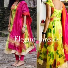 Pls send me the price Salwar Designs, Kurti Neck Designs, Kurta Designs Women, Kurti Designs Party Wear, Long Dress Design, Dress Neck Designs, Blouse Designs, Kalamkari Dresses, Ikkat Dresses