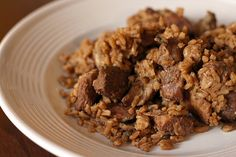 Pork and Sausage Jambalaya