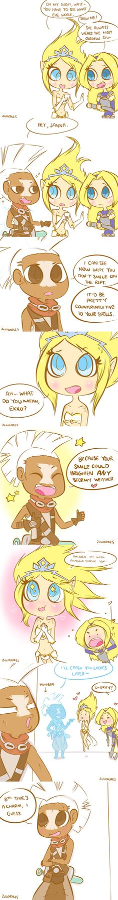 Ekko Pick Up Line - with Janna and Lux