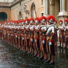 Swiss Guard, Vatican, Rom