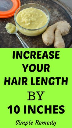 Ginger Hair Mask For Extreme Hair Growth - Hair Loss Treatment