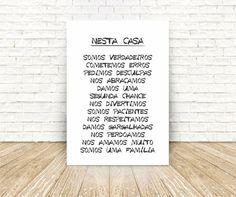Nesta casa tem amor. Nesta casa tem perdão. Nesta casa tem alegria. Nesta casa tem gargalhadas. Amei! A minha cara!!!!   Posters lindos e estilosos por um valor super acessível. Vendem online e entregam em todo o Brasil. Vale conferir!  #poster #familia #amor #perdão #alegria #gargalhadas #goodvibe #decoração #arte #design #ideiascriativas #poster #pôster #psoteres #postercriativo