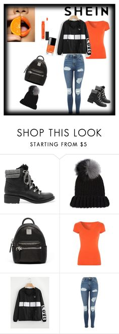 """""""#5"""" by melika-mujezin ❤ liked on Polyvore featuring Sam Edelman, Eugenia Kim, MCM, Topshop and Anastasia Beverly Hills"""