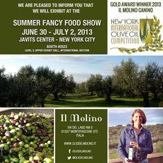 Summer Fancy Food Show!  New York City | June 30 - 2 July 2013  #organicfood