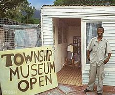 a photo exhibition in this little Township Museum in Hout Bay, Cape Town.