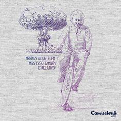 Camiseta 'Shit happens...' - Catalogo Camiseteria.com | Camisetas Camiseteria.com - Estampa, camiseta exclusiva. Faça a sua moda!