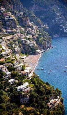 Positano, Amalfi Coast, Italy (by Mitch's Corner on Flickr)