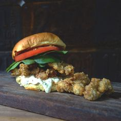 Carolina Oyster Po' Boy  | The Local Palate | The Local Palate is the South's premier food culture publication.