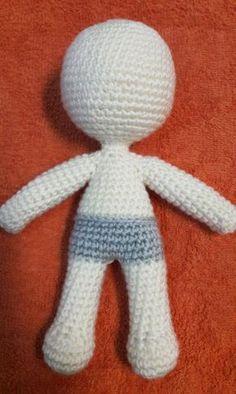 Julie doll amigurumi crochet pattern