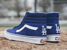 2b5a188d4f MLB x Vans Sk8 Hi Los Angeles Dodgers 1 400x300 photo Dodgers Baseball