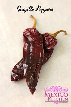 Guajillo peppers, one of the peppers used to make the Mexican dish Pozole Rojo. How To Make Red, How To Eat Less, Food To Make, Mexican Dishes, Mexican Food Recipes, Mexican Desserts, Dinner Recipes, Drink Recipes, Dinner Ideas