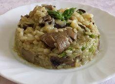 Denny Chef Blog: Risotto funghi porcini, asparagi e fontina d'Aosta