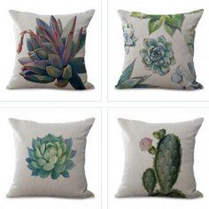Set - Botany Printing Pillow Cases