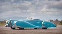 The Delahaye Saoutchik Roadster - is this the world's most beautiful car?