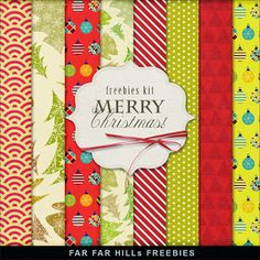 Sunday's Guest Freebies ~ Far Far Hill Free Digital Scrapbook Paper Pack ✿ Join 5,900 others. Follow the Free Digital Scrapbook board for daily freebies. Visit GrannyEnchanted.Com for thousands of digital scrapbook freebies. ✿