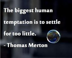 The saddest human temptation!! ~~Don't do it~~