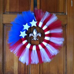 I love my new 4th of July wreath!