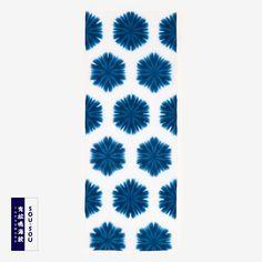 Tenugui Towel Arimatsu Shibori Tie-dye Hemp Flower : SOU • SOU US Online Store