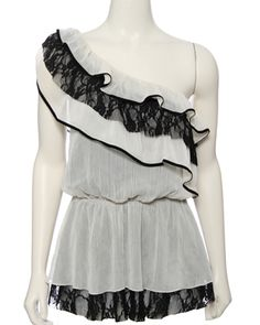 Adorable one shoulder top by Rue 21