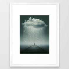Weathering the Storm Framed Art Print