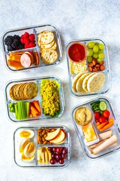 bento box lunch Healthy Bento Lunch Box Recipes - 5 Ways - The Girl on Bloor Cold Lunches, Prepped Lunches, Lunch Snacks, Cold Meals, Healthy Meals To Cook, Healthy Recipes, Healthy Snacks, Keto Snacks, Breakfast Healthy