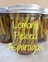 I have to admit that I am a newbie to pickled asparagus.  But I figured that I love asparagus and I love most pickles, so chances were good that I would love these too! With the spring a...