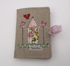 Linen Needle Case by pantsandpaper on Etsy, £12.00