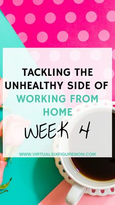I just wrapped up the 4th week in my journey to healthier habits for work-from-home moms and it was a pretty successful adventure. But wait...there's more!
