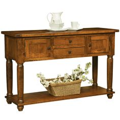 Carson Sideboard | Solid Wood Sideboards and Buffets – Amish Tables