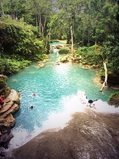 The blue hole, Jamaica,  been there, done that
