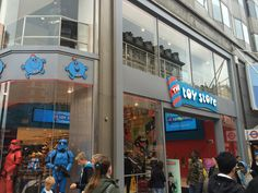 The Toy Store on Oxford Street.