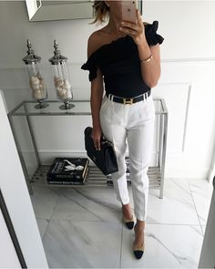 NewIn MintLabel blouse soon Dressy Outfits, Chic Outfits, Fashion Outfits, Work Outfits, Work Fashion, Fashion Looks, Anna Wintour, Professional Outfits, Lookbook