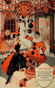 Vintage Halloween - dress and party vintage style this Halloween!