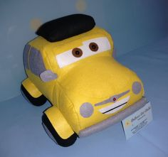 Dellour Art Ateliê: Carros Disney em feltro