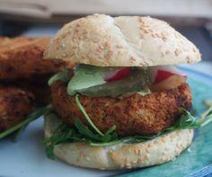 Burgery z ziemniaków i białej fasoli - z piekarnika  #vegan #recpies #potatos #burger