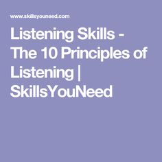 Seven Principles of Effective Public Speaking