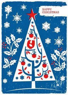 Old Christmas Post Сards — Vintage  (503x700)