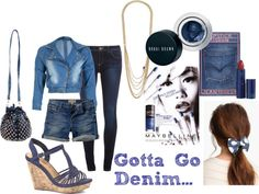 """Gotta Go Denim..."" by scarlette-velveteen-style on Polyvore"