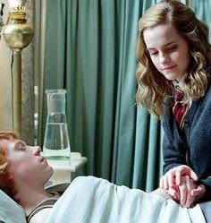 Ron & Hermione.