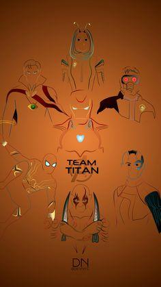 Team Titan Artwork . . #avengersinfinitywar