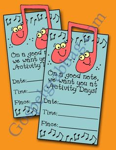 $1.50 - MUSIC - TALENTS: LDS Activity Days – Developing Talents - Goal 2, sing, play or lead a song, developing talents prepare for service,...